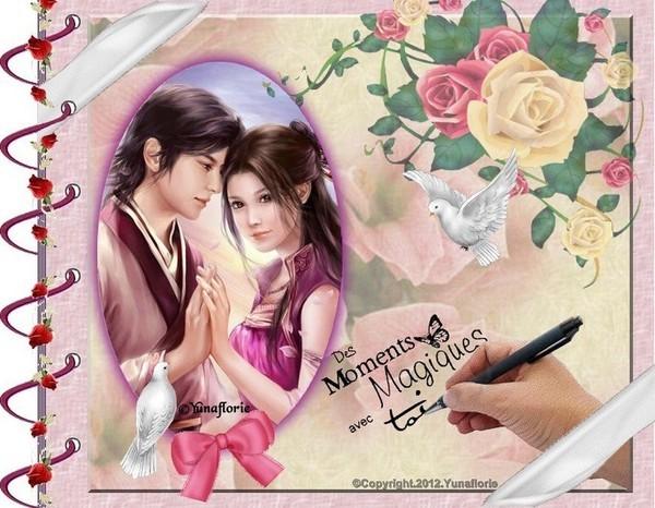 La magie de l'amour...